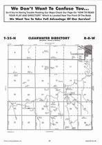 Clearwater Township Directory Map, Antelope County 2006